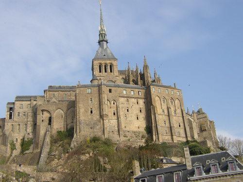 Uz salas ir izveidots... Autors: Fosilija Mont St. Michel
