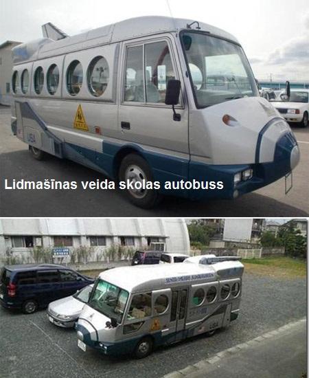 Vienīgais žēl  ka bez spārniem... Autors: DP Arodeyz Skolas autobusu dizains