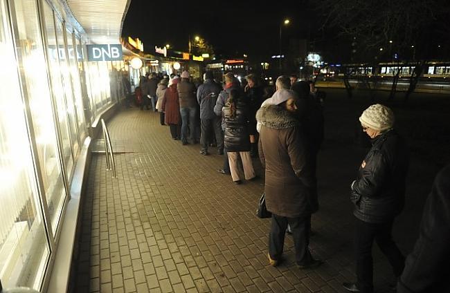 Rindas tika novērotas arī pie... Autors: ghost07 Swedbank bankrots? vai ažiotāža