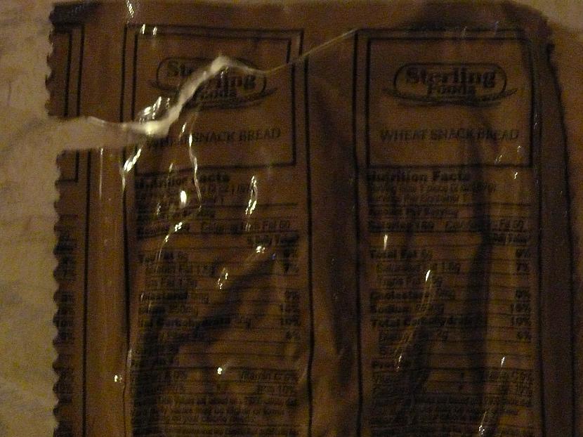Šajā iepakojumā bija kaut kas... Autors: Maariits ASV kareivju maltīte