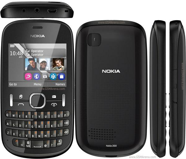 Nokia Asha 200 2G tīkls dual... Autors: estrella Jaunākie telefoni. 11. daļa.