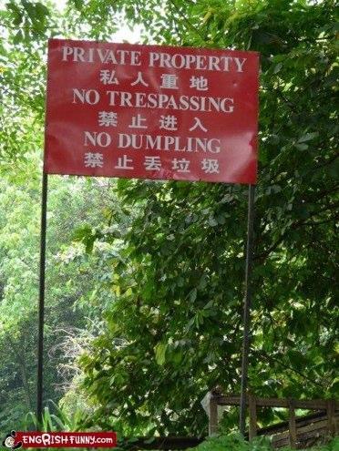 Autors: Pretīgais lops Smieklīgākās 'Netuvoties' zīmes!