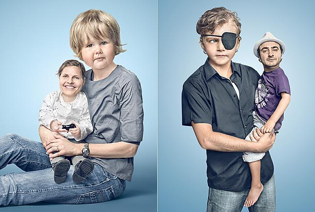 Autors: R1DZ1N1EKS Lieli bērni VS mazi vecāki.