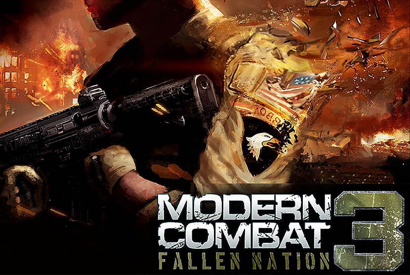Spēlē jūs atradīsiet gan 13... Autors: Crop Jaunākais Modern combat 3 ios un android ierīcēm.