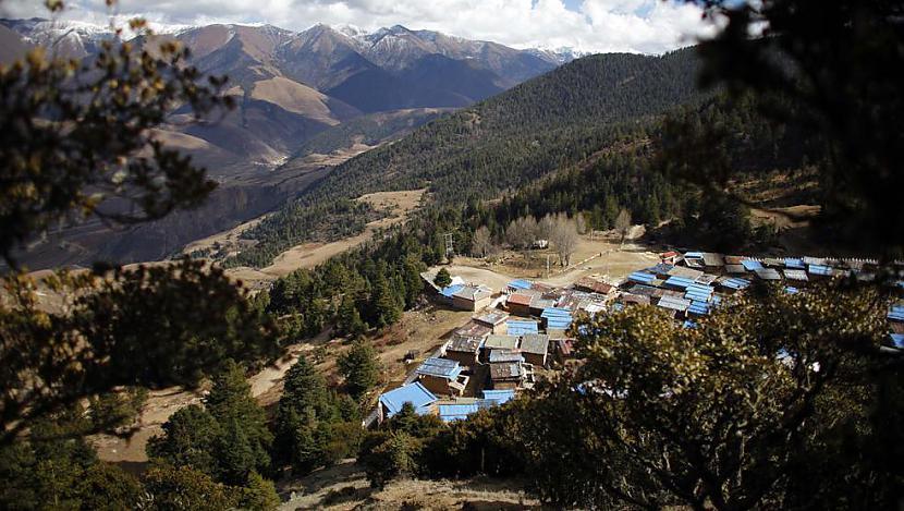 Pats klosteris atrodas tālu no... Autors: gnosin Tibetiešu sieviešu klosteris