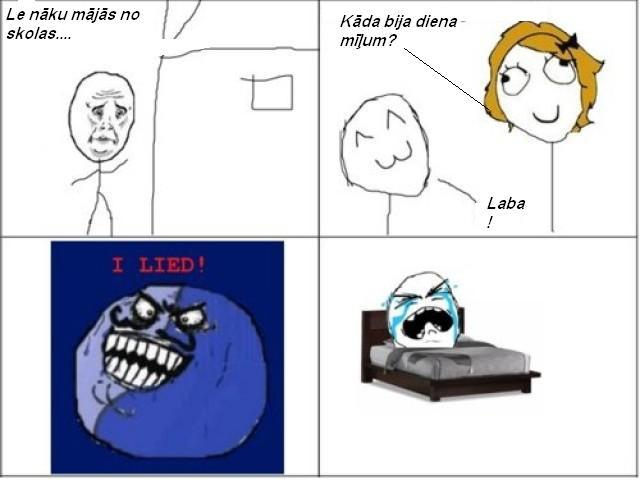 Autors: FakingPohuj Komiksi latviski!!!