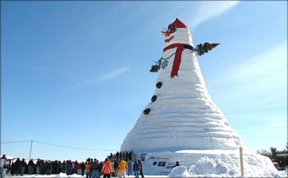 īstā bilde Pasaules lielākais... Autors: ZveeRiņš fakti par sniegavīriem.