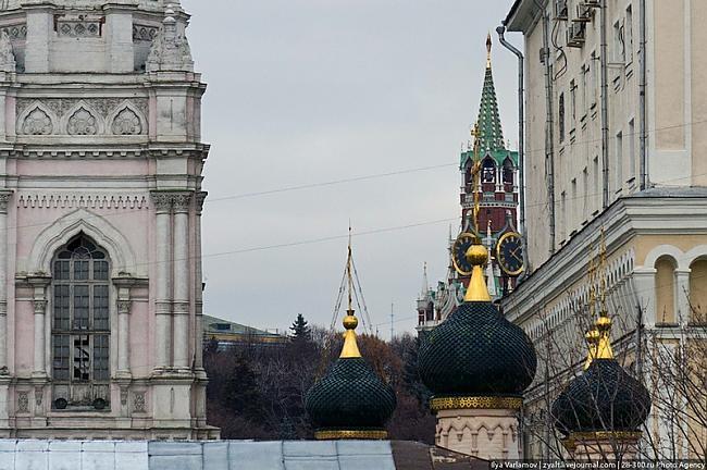 Lūk skats no viņa balkonaJūs... Autors: Meunis Viktora māja pie Kremļa...