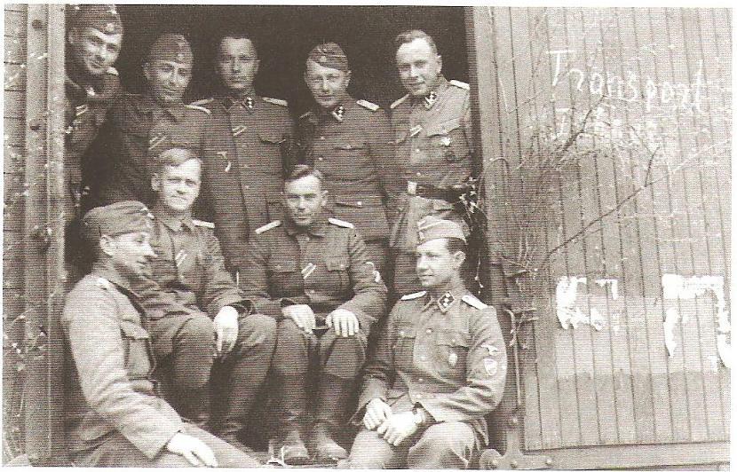 Leģionāri ceļā no Ļeņingradas... Autors: Sharkyy Latviešu cīnītāji 3