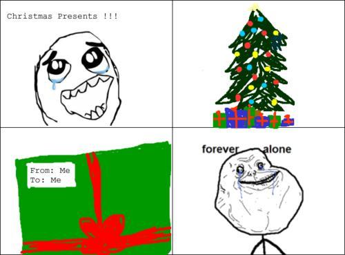 Autors: ZveeRiņš Forever alone christmas.