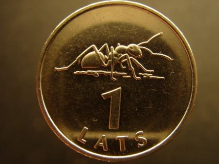 Skudra  simbolizē strādīgumu... Autors: Kobis Latu īstā vērtība! [papildināts]