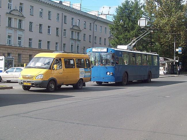 Krievijas trolejbusi Autors: trions Trolejbusu satiksme pasaulē