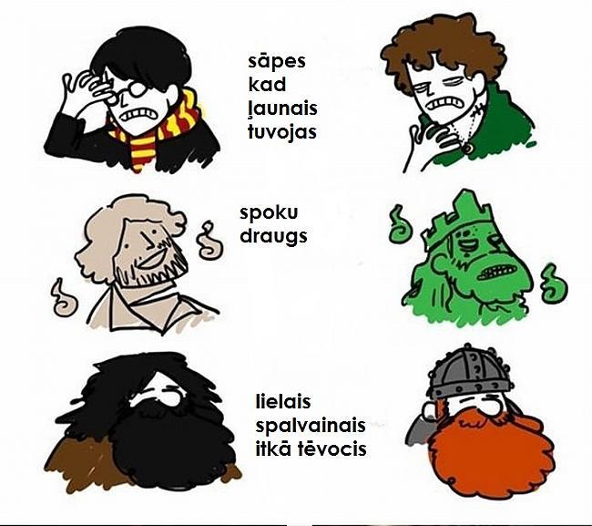 Autors: Asiņainā Mērija Harry Potter vs Lord of the Rings