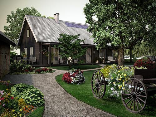 Sakārtota apkārtne un skaista... Autors: jaunaisgads latvijas skaistās ainavas