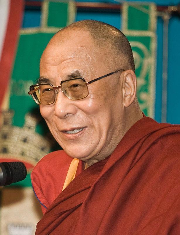 Dalailama  Tibetas budistu... Autors: Fosilija Visu laiku ikoniskākās personības (1. daļa)
