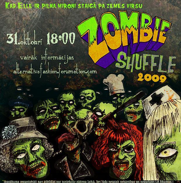 plakāts by zeloco Autors: amechi Zombie Shuffle 2009
