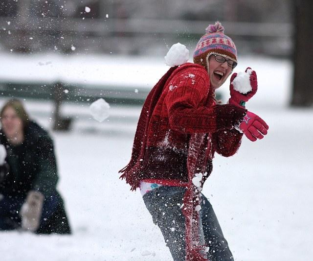 daži pat bija gatavi riskēt... Autors: iloveapplecake Winter snow story!`
