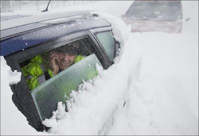 Paldies par uzmanību Autors: AldisTheGreat Sniega vētra Rumānijā.