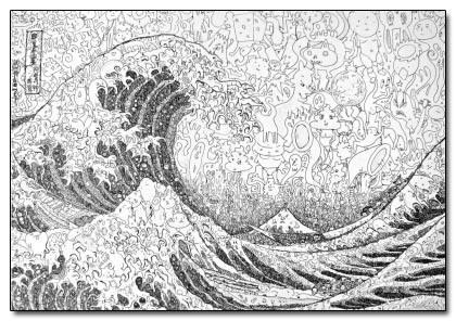 Vēl viens klasisks mākslas... Autors: Ibumetīns 8 Pārsteidzoši mākslas veidi.