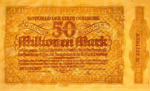 50 miljoni markas Autors: Fallenbeast Vislielākās banknotes pasaules vēsturē