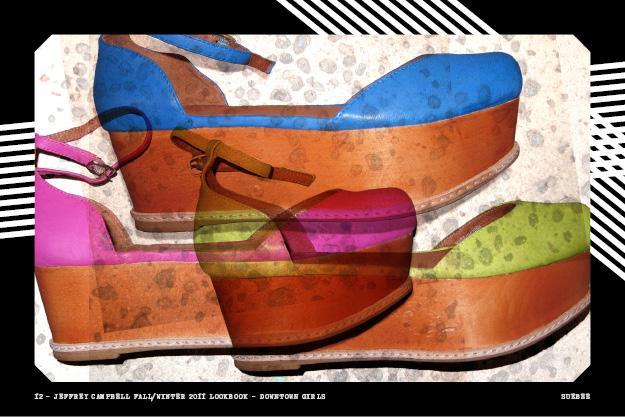 Jeffrey Campbell NeonSueBee Autors: louis Flatforms