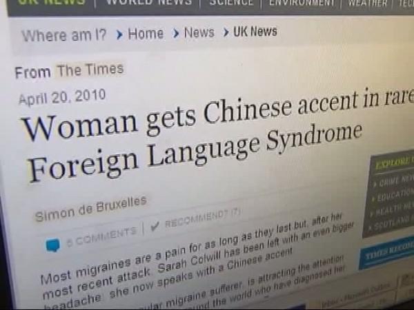 Ārvalstu valodas sindromsTas... Autors: Karalis Jānis 5 Savādi medicīnas sindromi.