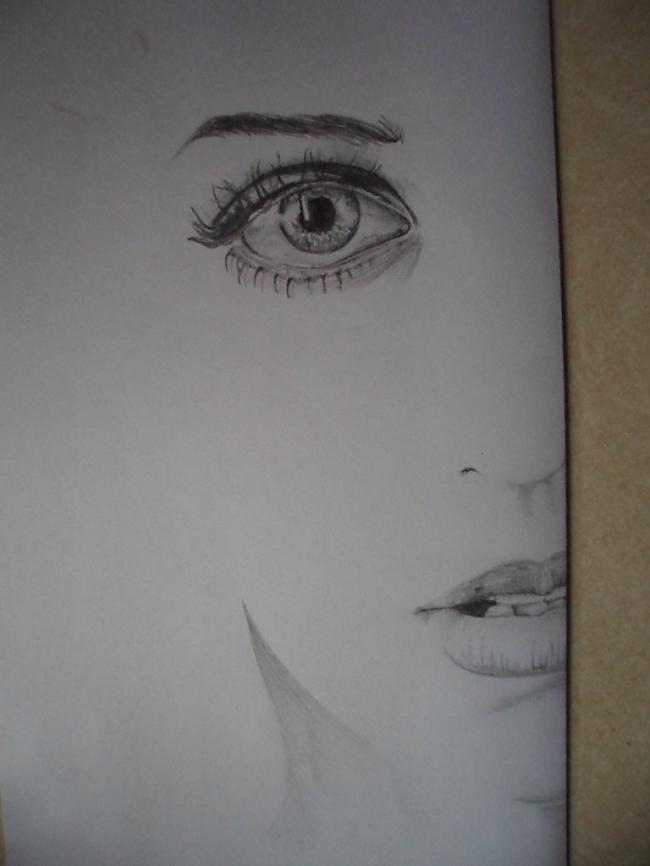 Viens no mīļākajiem darbiem... Autors: LielaisLempis Manu portretu evolūcija