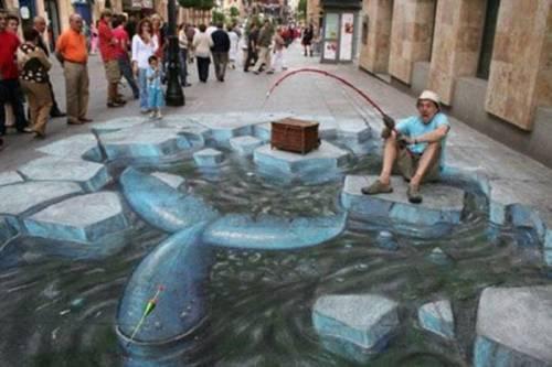 Autors: witchee Iespaidīgā 3D ielu māksla