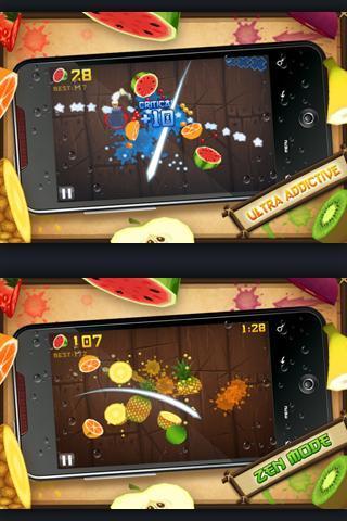 Fruit ninjaNoteikti visi jau... Autors: roawrr Android spēles tavam telefonam : )