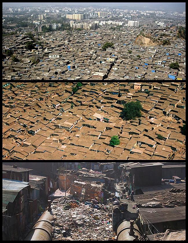 Dharavi  Mumbajā Indija... Autors: Treiseris 10 vietas, kur Tu negribētu dzīvot
