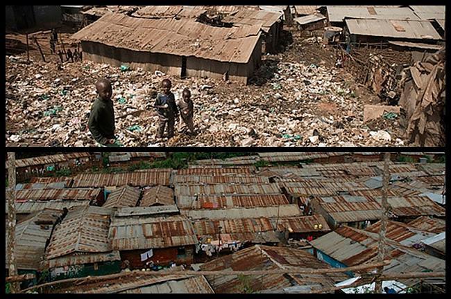 Kibera  Nairobi Kenija... Autors: Treiseris 10 vietas, kur Tu negribētu dzīvot