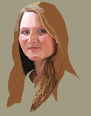 Sākam ķerties klāt matiem un... Autors: Fosilija 6h darbs Paintā!