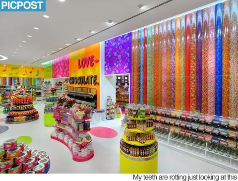 Konfekscaronu veikals Tokijā Autors: Fosilija Pasaules labākie konfekšu veikali