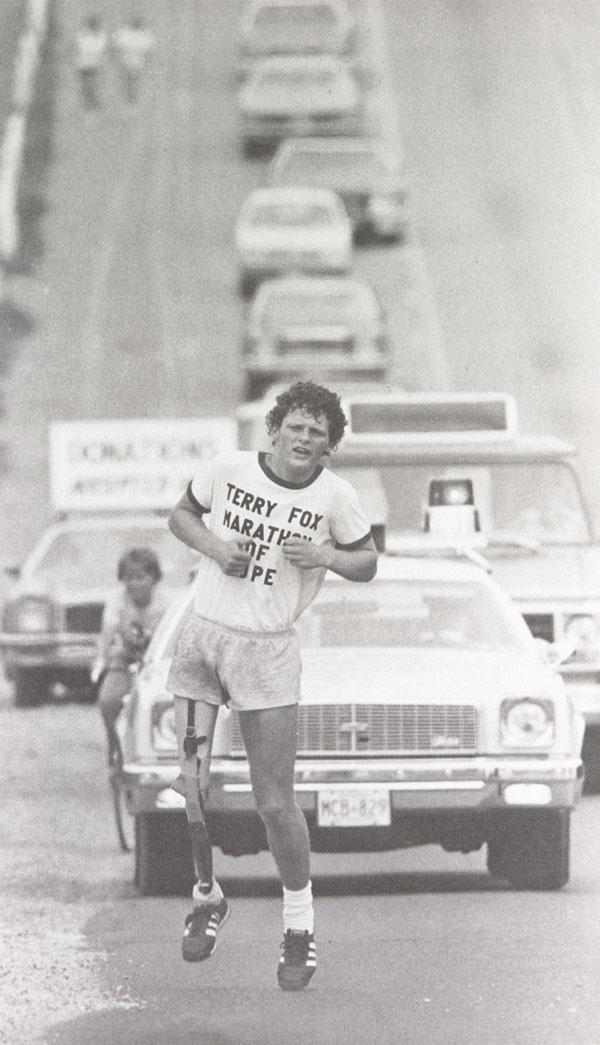 Terry FoxPar Teriju Foksu... Autors: Moonwalker Cilvēki, kuri nepadevās