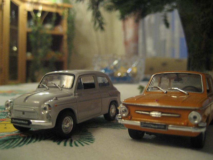 Zaz 965 un Zaz 968 Autors: Mimis Mana automodeļu kolekcija.