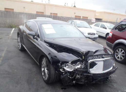 Bentley Continental... Autors: Latišs Avārējušie dārgauto...