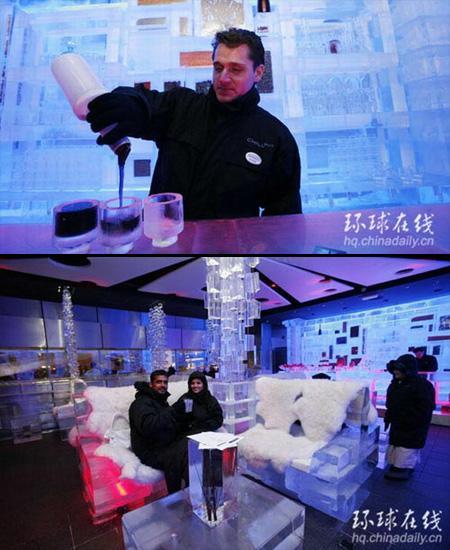 Ice Restaurant in... Autors: Fosilija 10 Interesantākie restorāni Pasaulē =)