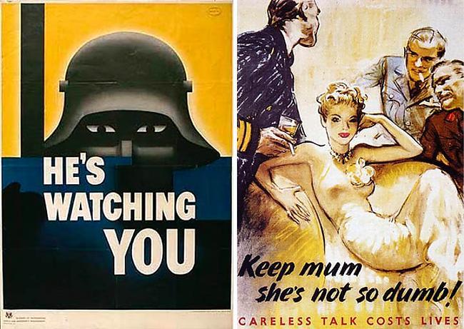 Sabiedrotie visai bieži... Autors: Moonwalker 2. Pasaules Kara propaganda