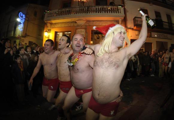 Mazā Spānijas pilsētiņā La... Autors: Ben4iks Interesanti fakti par Ziemassvētkiem