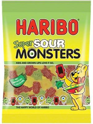 nbspHaribo Super Sour Monsters Autors: CaptainMorgan21 Jaunās HARIBO končas