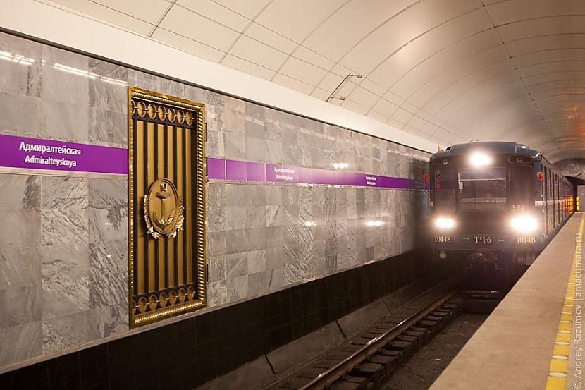 Sanktpēterburgā atrodas metro... Autors: Tadžiks Maz zināmi fakti par Krieviju