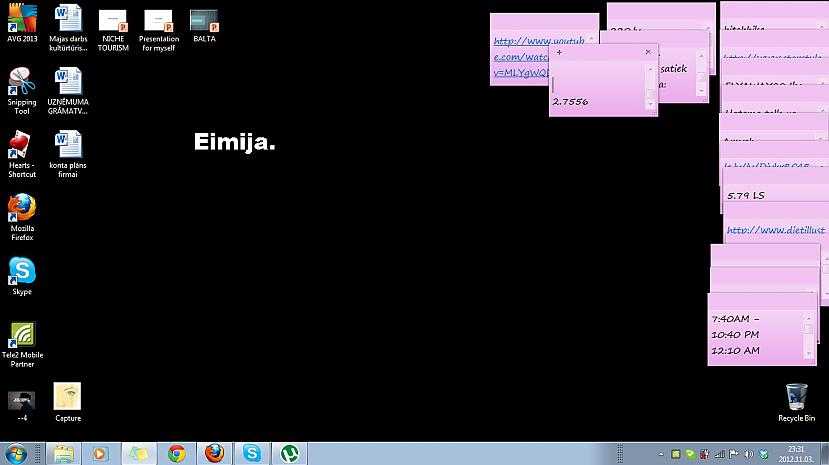 Autors: ORGAZMO Kā izskatās spoku Desktopi /2/
