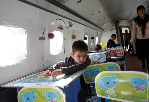Autors: Šamaniss Bērnu lidmašīna.