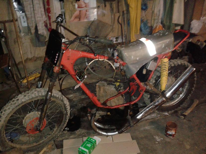Tātad tā motors bija nojāts... Autors: dolaars8 IŽ Planeta3 K-15