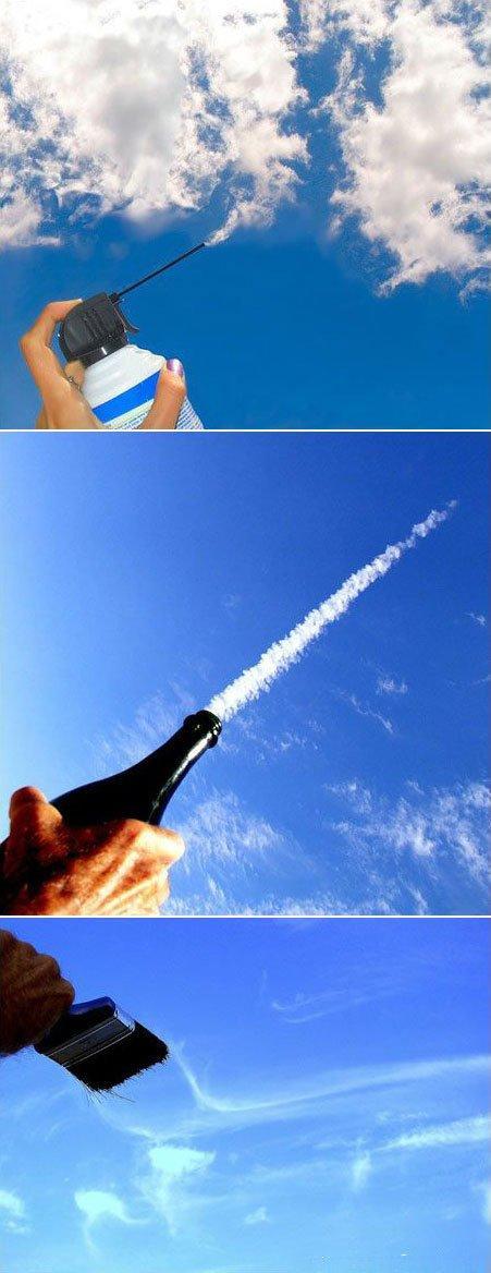 Meistarojam mākoņus Autors: Smailjux Kā uz to skatās!
