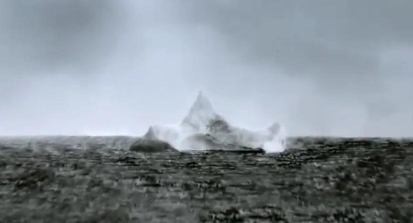 Fotogrāfijas autors ir cita... Autors: BrĀLis scorpion1 Aisbergs, ar ko sadūrās Titāniks!