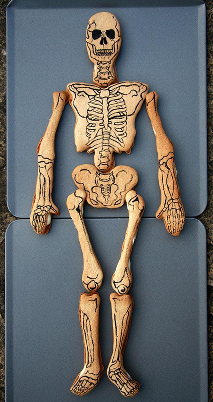 Cilvēka skelets Autors: Xmozarus WTF-Izveidots no cepumiem ?!