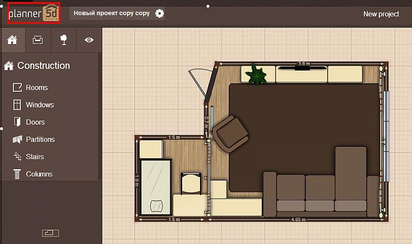 Planer 5D lieliska programma... Autors: catvsdog google chrome
