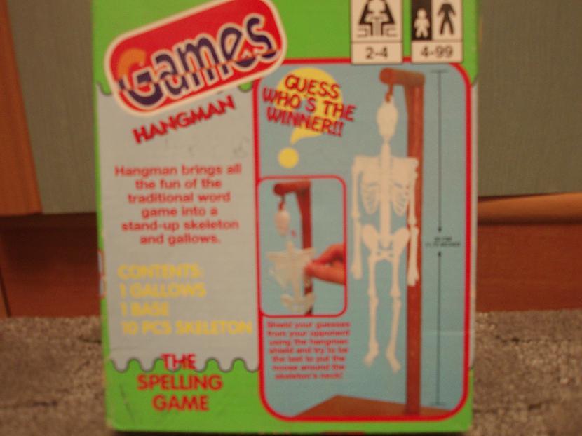 Karātavas jeb Hangman... Autors: nikrider Populārākās galda spēles