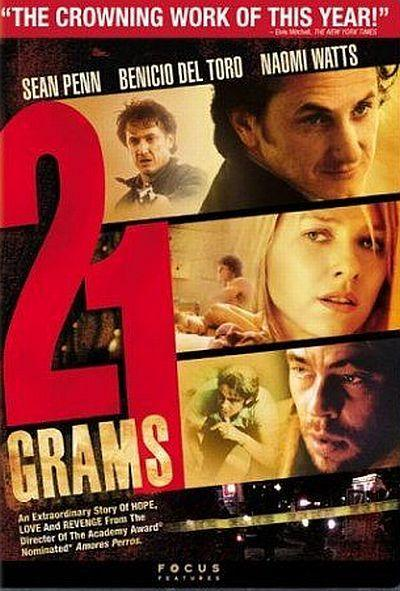 21 grams Autors: Girtens  Ne tā pirmā svaiguma filmas kuras vērts noskatīties